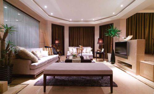 现代时尚简洁客厅装潢设计