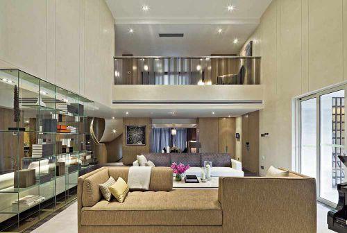 现代风格时尚客厅装修案例