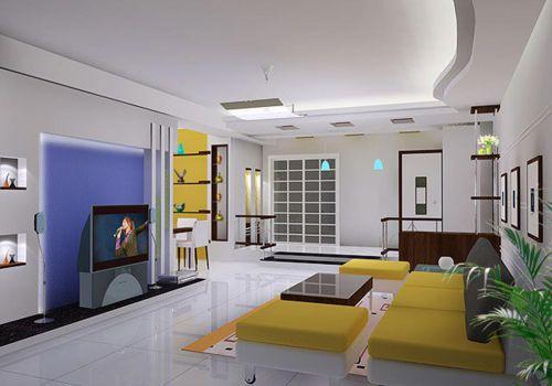 2016精致现代风格客厅装潢装饰