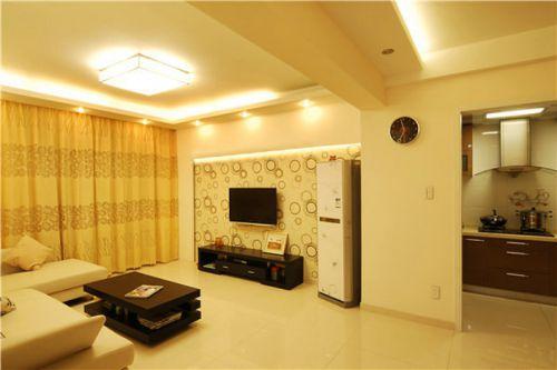 现代风格舒适客厅装潢装饰设计图片