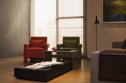 摩登简约现代风格客厅展示