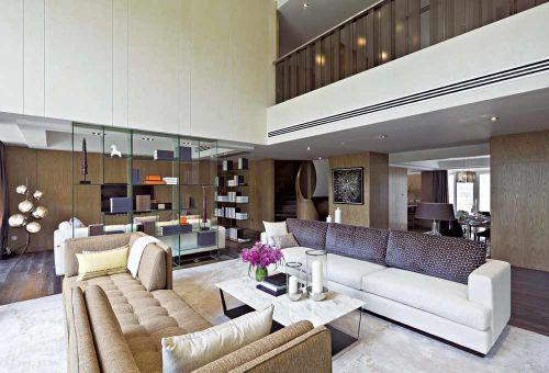 现代简洁大方客厅装修案例