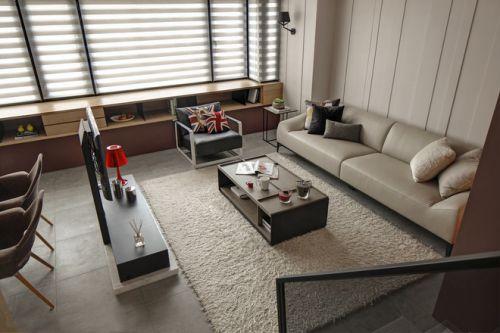 时尚现代客厅设计图