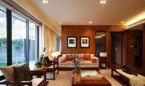 2016现代风格客厅装修案例