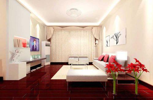 温馨现代风格时尚客厅装潢