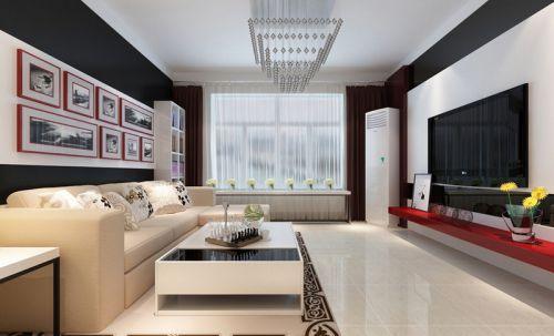 现代简洁客厅装潢设计