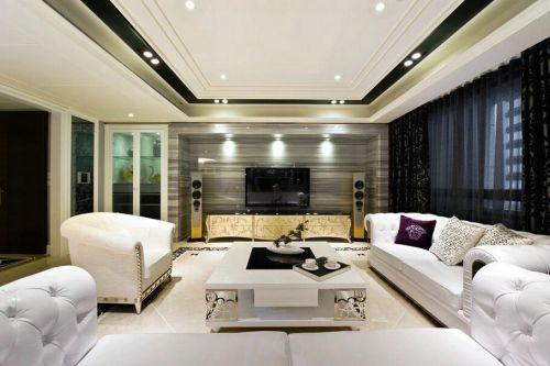 2016现代新古典客厅设计欣赏