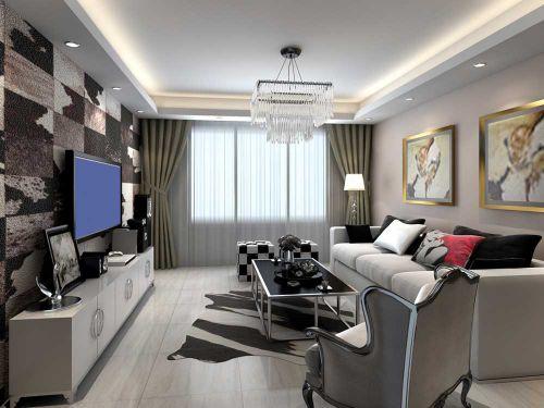 前卫现代风格客厅个性装潢