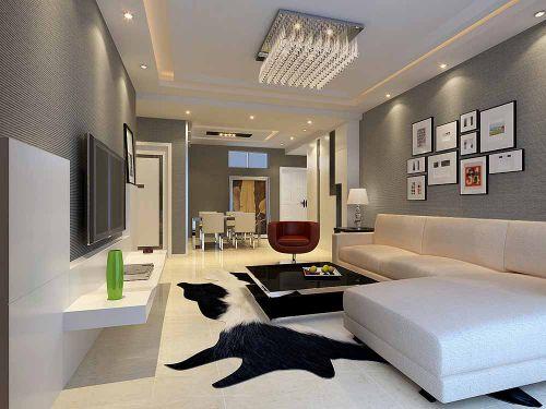 现代客厅装修案例