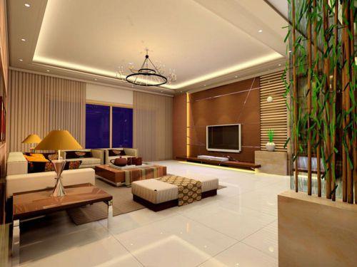 精美温馨现代风格舒适客厅装修