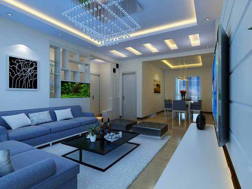 现代客厅装修效果展示