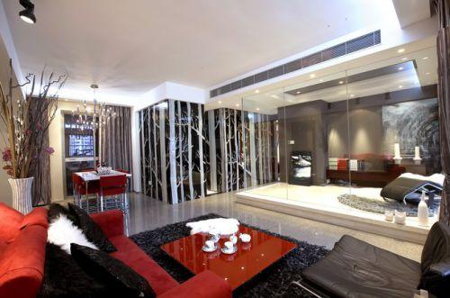 米色质感现代风格客厅效果图赏析