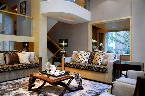 时尚个性现代风格客厅设计效果图
