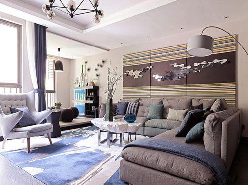 摩登时尚现代风格客厅装饰