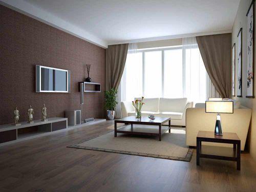 内敛大气现代风格客厅装修