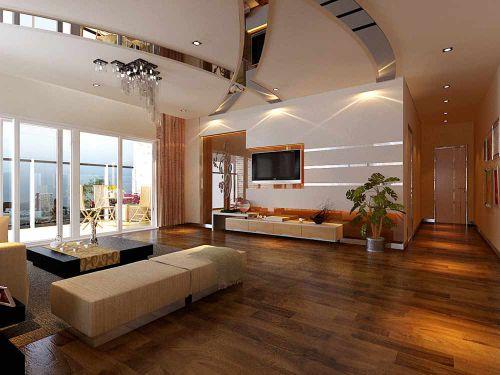 现代时尚明亮客厅装潢