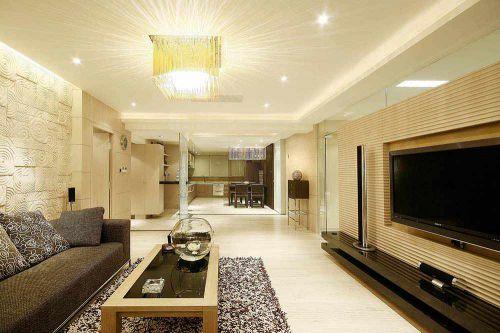 现代简洁客厅装修效果展示