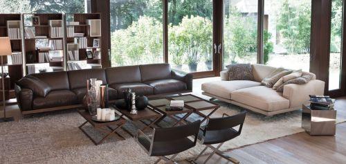 灰色质感现代风格客厅装饰案例