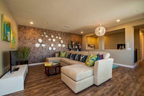 创意现代风格客厅效果图赏析