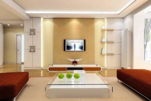 现代雅致客厅装修案例欣赏