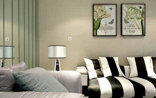 现代客厅装修设计图
