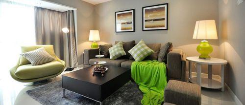 极致简约公寓客厅设计装饰图片