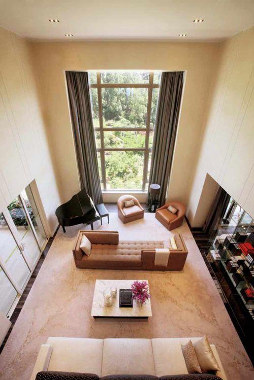 2016现代简洁舒适客厅装修案例