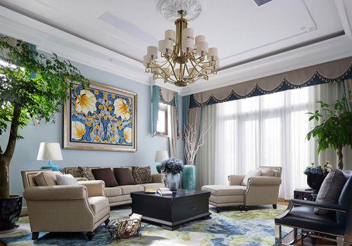 精致欧式风格客厅装修设计