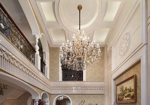 豪华欧式客厅吊顶美图