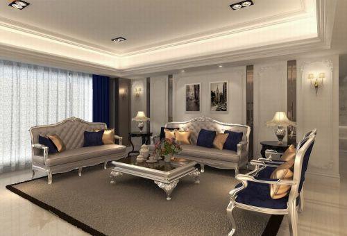 2016欧式风格客厅装修布置