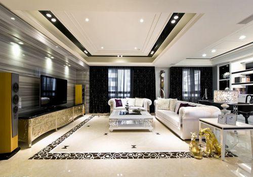 金贵欧式客厅设计参考