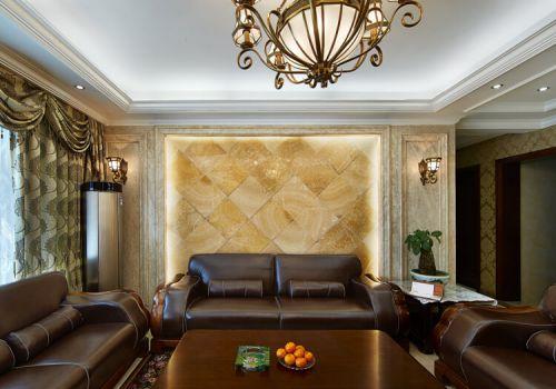 古典沙发背景墙欣赏