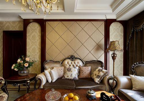 欧式客厅背景墙设计