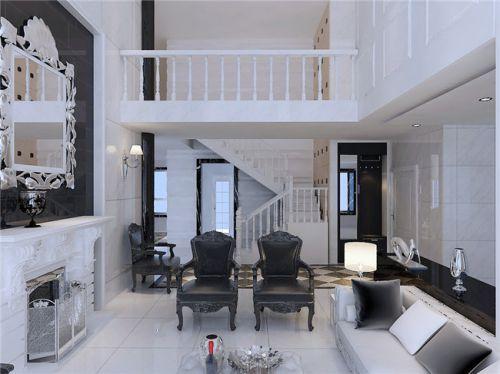 精致低奢欧式风格客厅设计