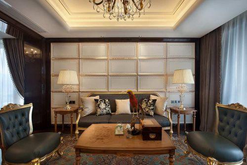 低调奢华欧式客厅装饰效果