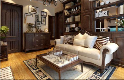 经典欧式风格客厅装修效果图