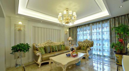 浪漫欧式客厅设计欣赏