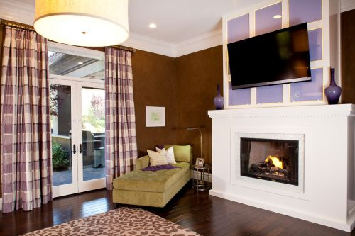 简洁欧式风格客厅装修布置