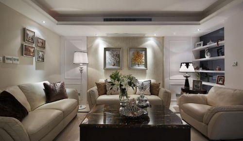 精致优雅欧式客厅装修图片