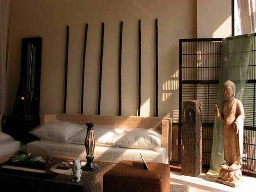 中国风式客厅装修设计图