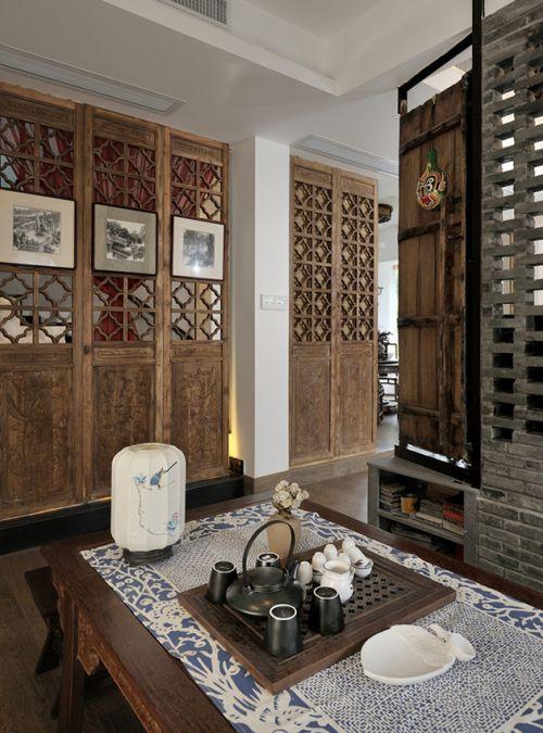 古色古香中式客厅设计