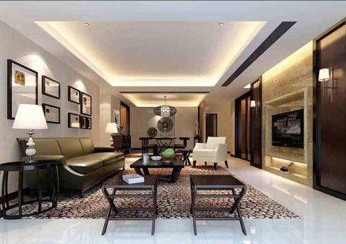 中式客厅风格装潢设计