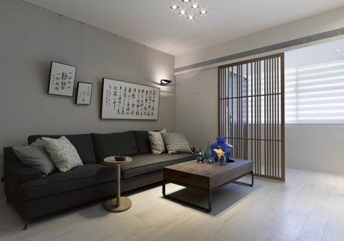 灰色中式客厅设计