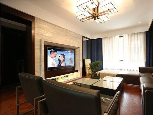 中式现代客厅装修案例