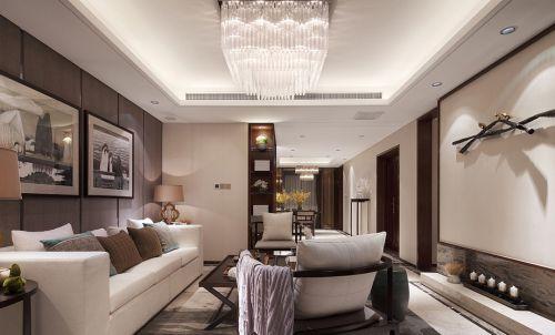 中式风格雅致客厅装饰设计图片