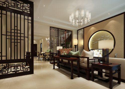 古典中式风格客厅吊顶效果图赏析