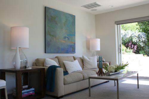 灰色清新簡約風格客廳裝潢設計