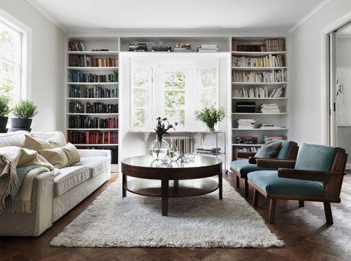 白色素雅簡約風客廳裝修設計