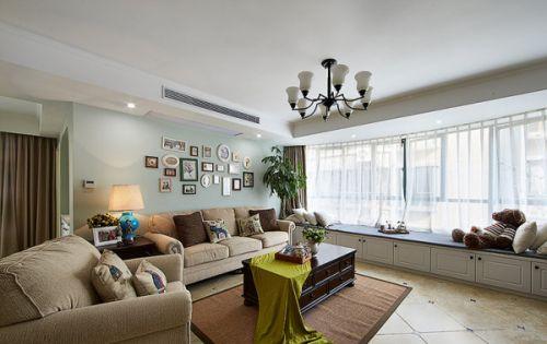 原木簡約客廳設計