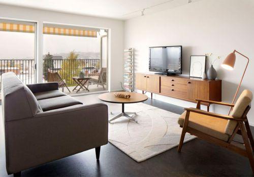 溫馨簡約風格客廳裝修效果圖